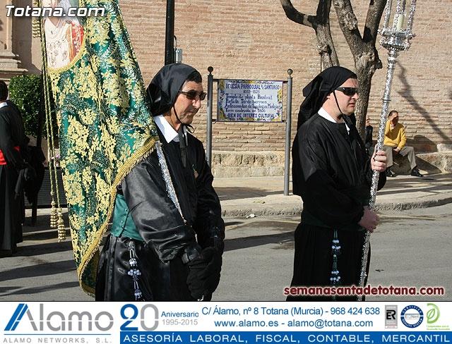 Procesión Viernes Santo mañana 2010 - Reportaje I (Salida y recogida I) - 40