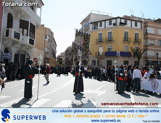 Procesión Viernes Santo mañana 2010 - Reportaje II (Recogida) - 4