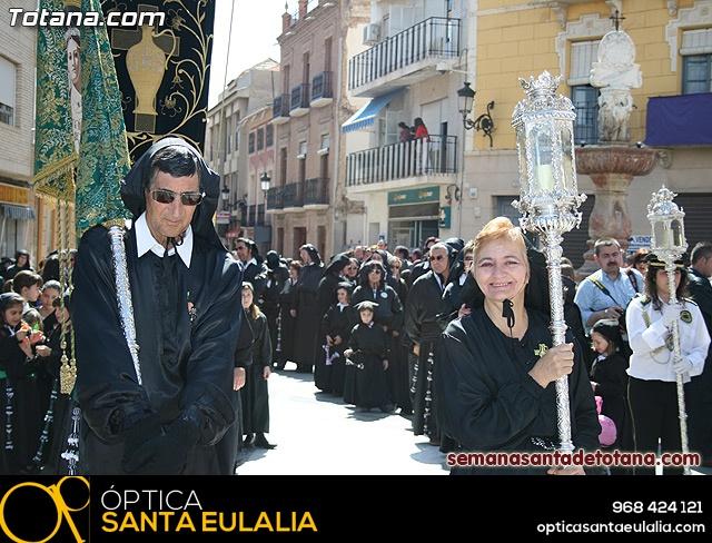 Procesión Viernes Santo mañana 2010 - Reportaje II (Recogida) - 9