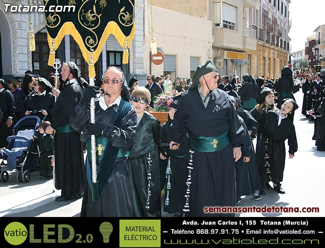 Procesión Viernes Santo mañana 2010 - Reportaje II (Recogida) - 13