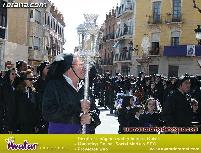 Procesión Viernes Santo mañana 2010 - Reportaje II (Recogida) - 76