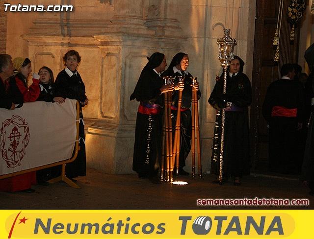 Procesión del Santo Entierro - Viernes Santo 2010 - Reportaje I (Salida y recogida 2)   - 2