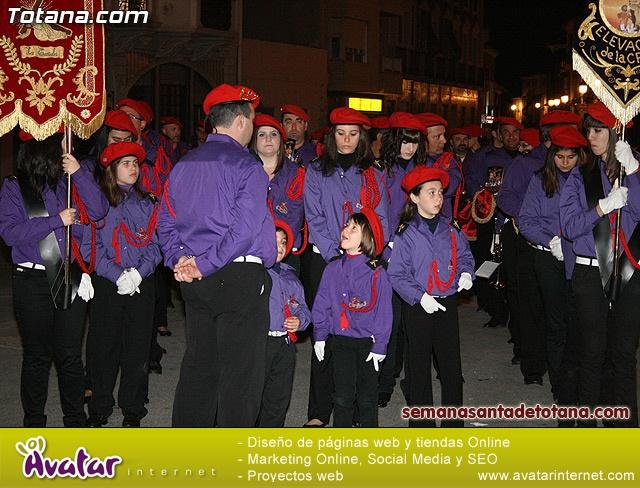 Procesión del Santo Entierro - Viernes Santo 2010 - Reportaje I (Salida y recogida 2)   - 5