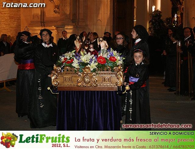 Procesión del Santo Entierro - Viernes Santo 2010 - Reportaje I (Salida y recogida 2)   - 18
