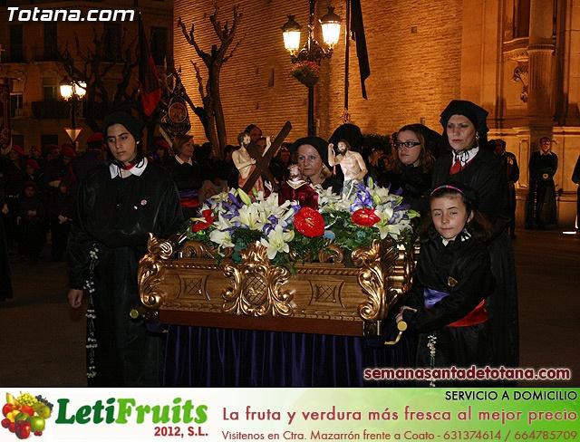 Procesión del Santo Entierro - Viernes Santo 2010 - Reportaje I (Salida y recogida 2)   - 20