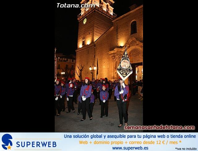 Procesión del Santo Entierro - Viernes Santo 2010 - Reportaje I (Salida y recogida 2)   - 22