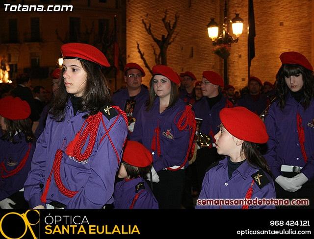 Procesión del Santo Entierro - Viernes Santo 2010 - Reportaje I (Salida y recogida 2)   - 24