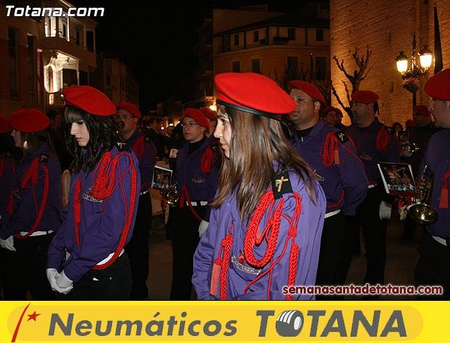 Procesión del Santo Entierro - Viernes Santo 2010 - Reportaje I (Salida y recogida 2)   - 25