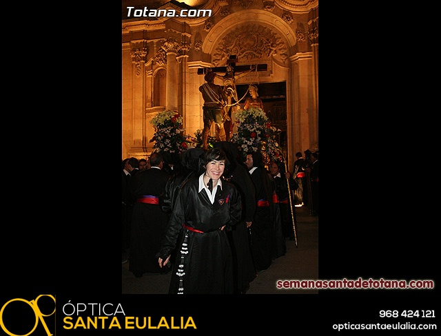 Procesión del Santo Entierro - Viernes Santo 2010 - Reportaje I (Salida y recogida 2)   - 37