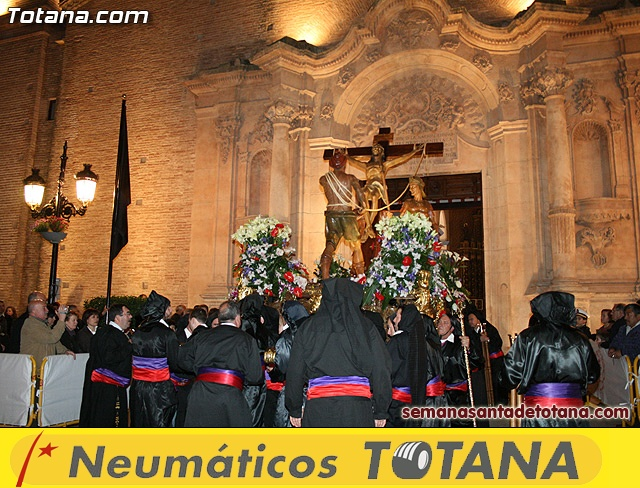 Procesión del Santo Entierro - Viernes Santo 2010 - Reportaje I (Salida y recogida 2)   - 38