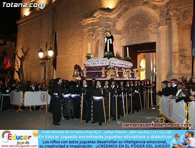 Procesión del Santo Entierro - Viernes Santo 2010 - Reportaje I (Salida y recogida 2)   - 384