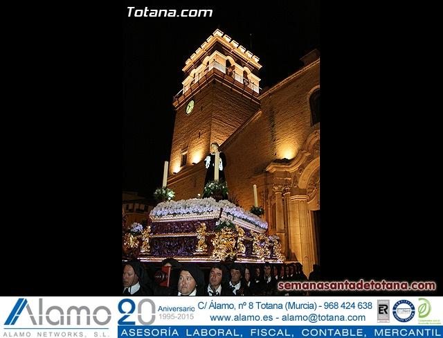 Procesión del Santo Entierro - Viernes Santo 2010 - Reportaje I (Salida y recogida 2)   - 386