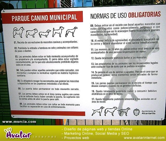 PARQUE CANINO ALCANTARILLA - 25