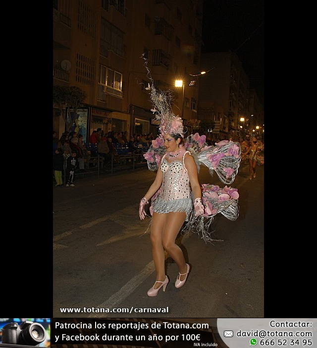 Totana estuvo presente en los carnavales de Águilas y Alhama - 14