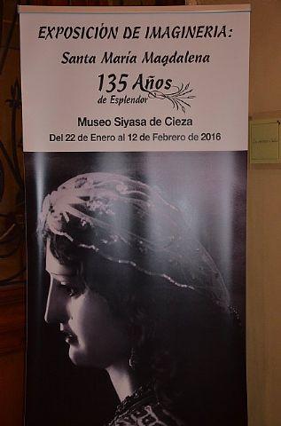 Entrevista Hdad. de Santa María Magdalena - Exposición en Cieza - 1