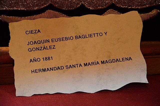 Entrevista Hdad. de Santa María Magdalena - Exposición en Cieza - 12