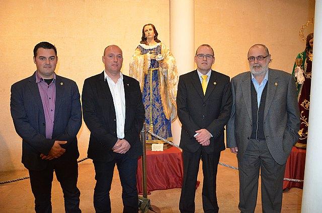 Entrevista Hdad. de Santa María Magdalena - Exposición en Cieza - 34