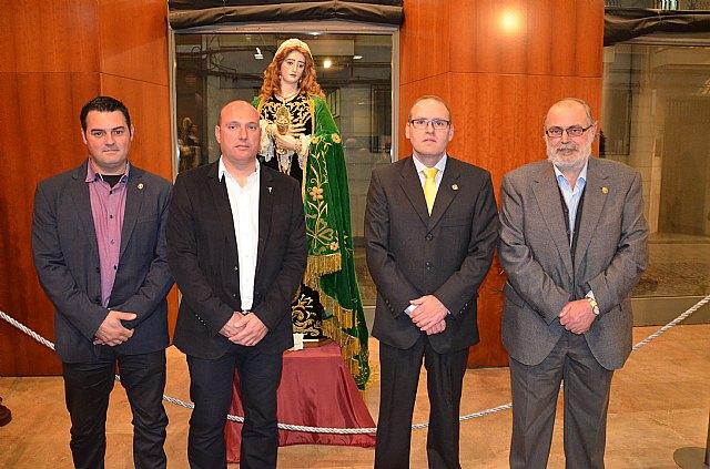 Entrevista Hdad. de Santa María Magdalena - Exposición en Cieza - 35