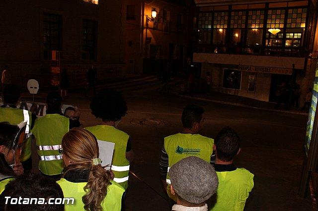 Manifestación de la Policía Local frente al Consejero de Presidencia y autoridades municipales (Miércoles Santo) - 8