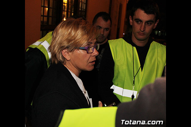 Manifestación de la Policía Local frente al Consejero de Presidencia y autoridades municipales (Miércoles Santo) - 35