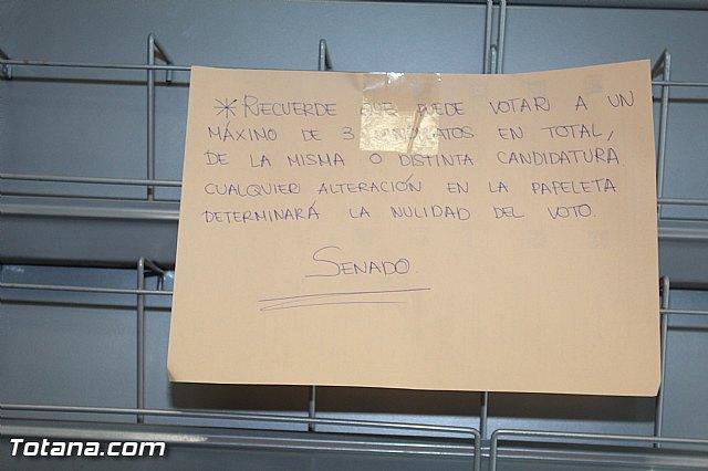 Jornada electoral - Elecciones generales 20 diciembre 2015 - 2