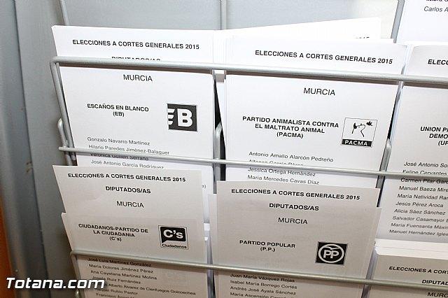 Jornada electoral - Elecciones generales 20 diciembre 2015 - 3