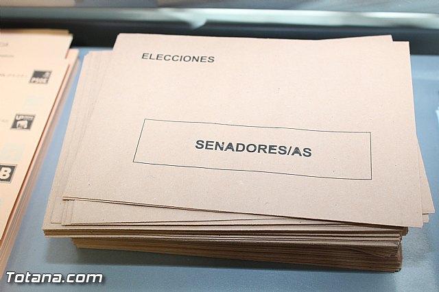 Jornada electoral - Elecciones generales 20 diciembre 2015 - 9