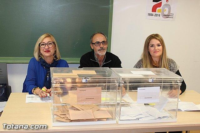 Jornada electoral - Elecciones generales 20 diciembre 2015 - 13