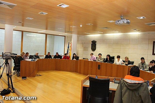 Pleno ordinario Diciembre 2012 - 2