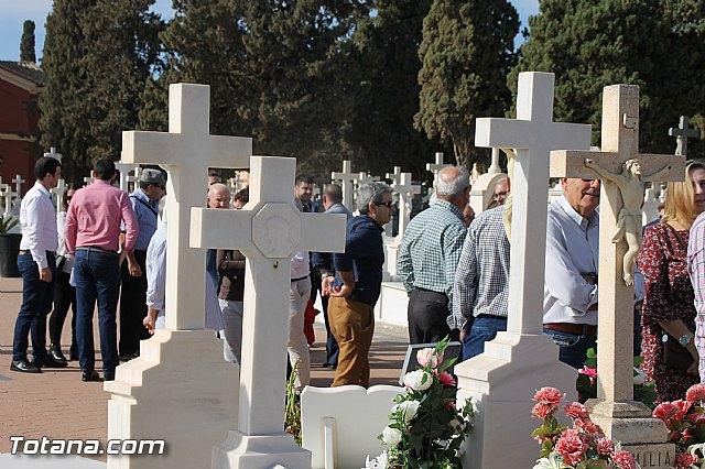 Acto institucional de descubrimiento de la lápida en memoria de los 11 fusilados de Totana y Aledo en octubre 1939 - 8