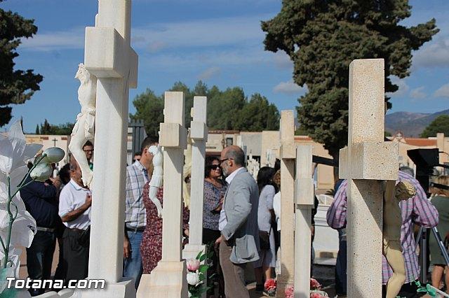 Acto institucional de descubrimiento de la lápida en memoria de los 11 fusilados de Totana y Aledo en octubre 1939 - 15