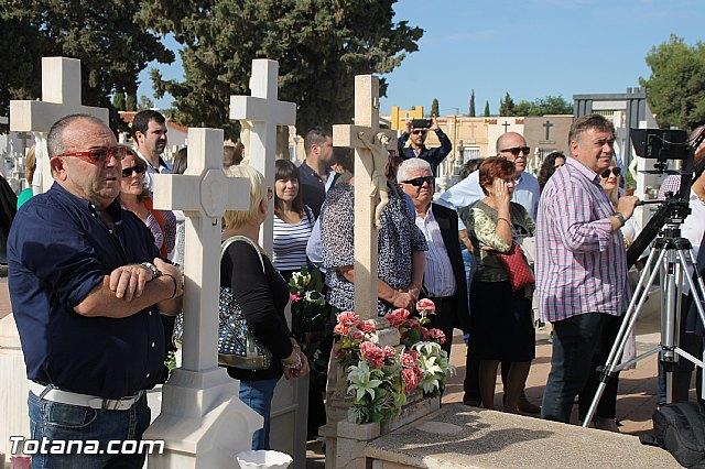 Acto institucional de descubrimiento de la lápida en memoria de los 11 fusilados de Totana y Aledo en octubre 1939 - 21