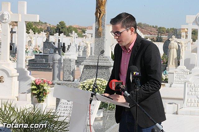 Acto institucional de descubrimiento de la lápida en memoria de los 11 fusilados de Totana y Aledo en octubre 1939 - 35