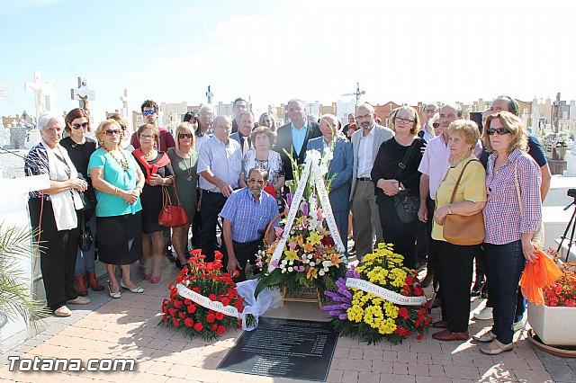 Acto institucional de descubrimiento de la lápida en memoria de los 11 fusilados de Totana y Aledo en octubre 1939 - 78