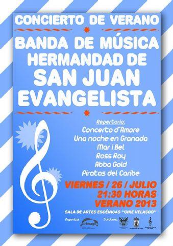 Entrevista Hdad de San Juan. Concierto de verano. Viernes 26 julio - 1