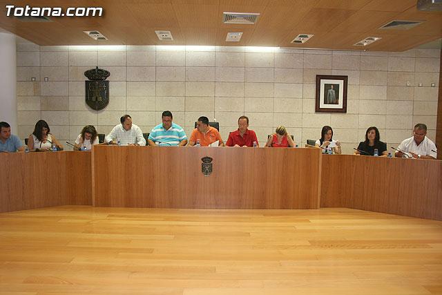 Pleno ordinario junio 2009  - 1