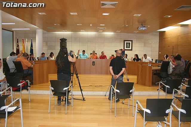 Pleno ordinario junio 2009  - 2