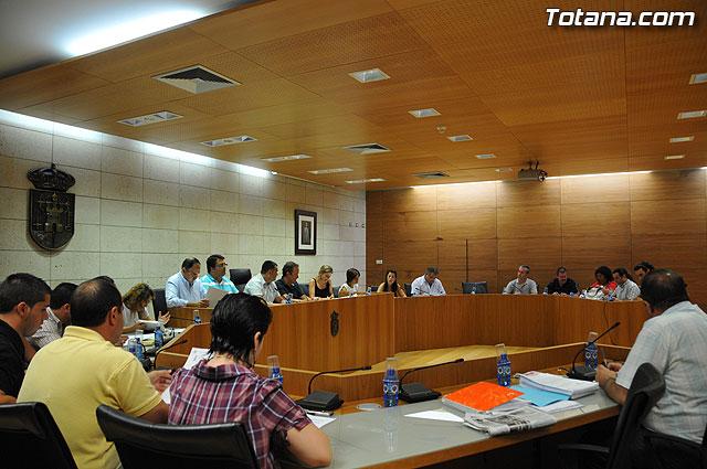 Pleno ordinario Julio 2009 - 2